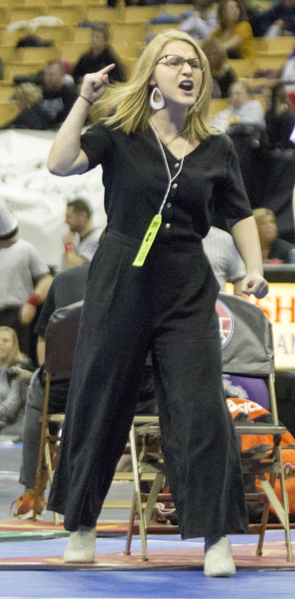 Beginning and an end: Samantha Erneste starts coaching