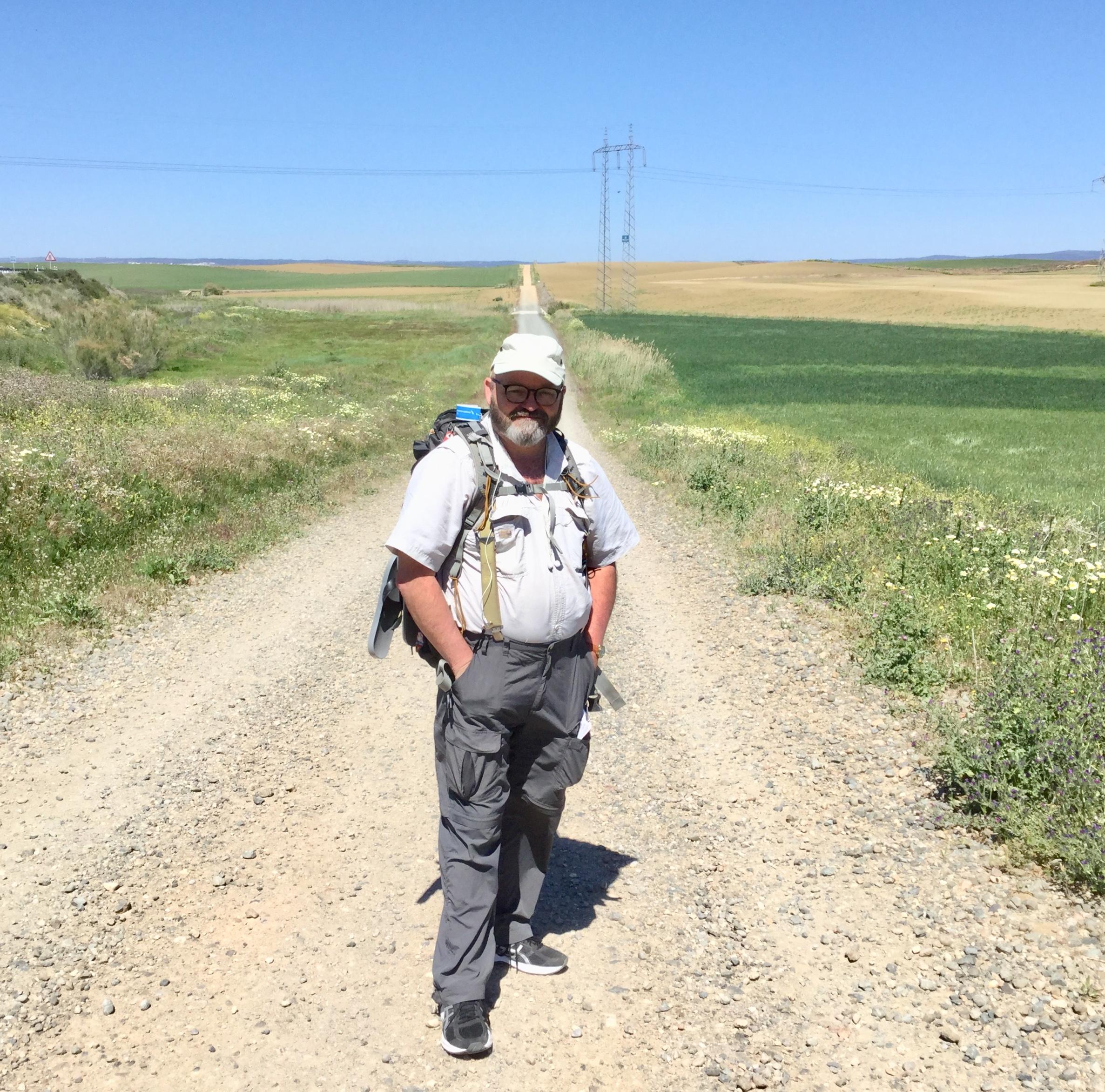 John Larimer on the Camino Via de la Plata