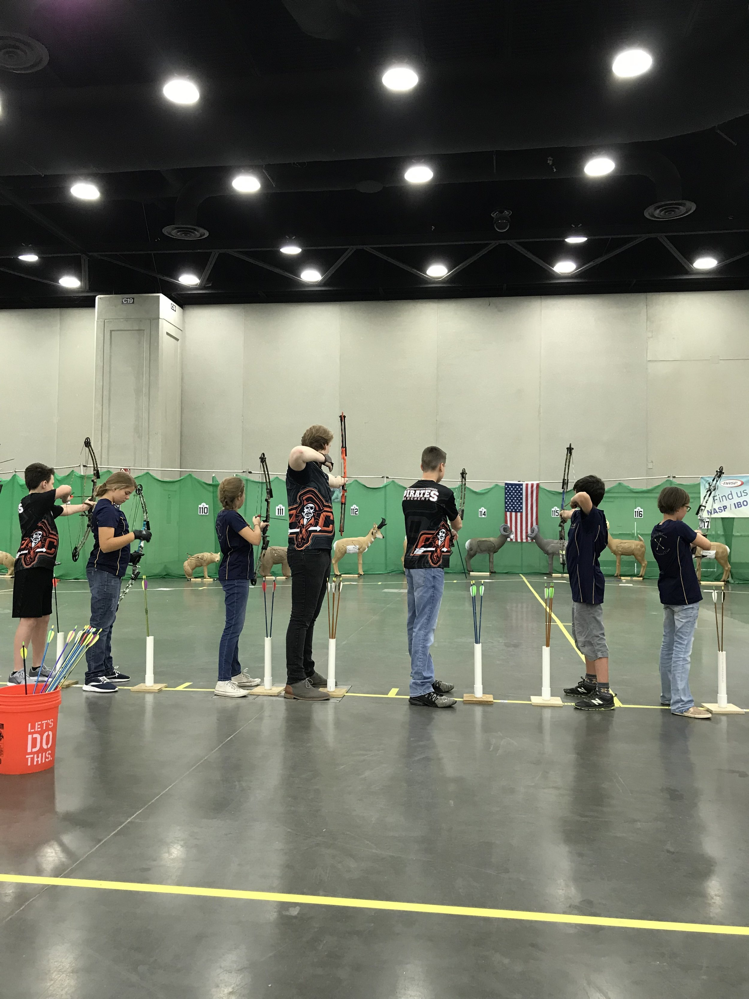 The Platte County archery team went to Louisville, Ky., earlier this month to compete in the NASP Eastern Nationals. Archers from Compass Elementary, Platte County High School, Platte County Middle School all took part in the event.