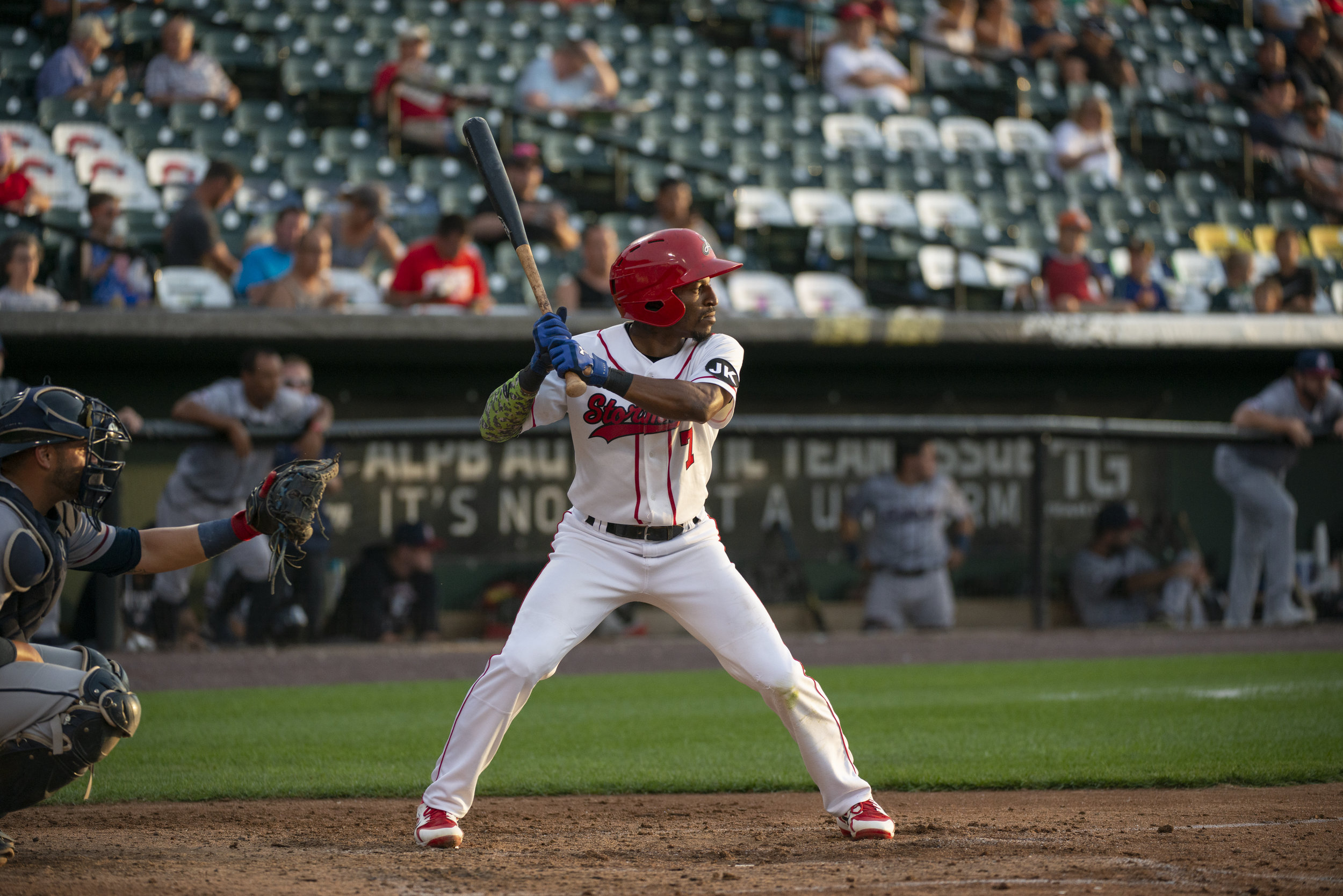 Chrissy Gelzunas/Special to the Citizen  Park product Darian Sandford is currently leading the Atlantic League with 44 stolen bases.