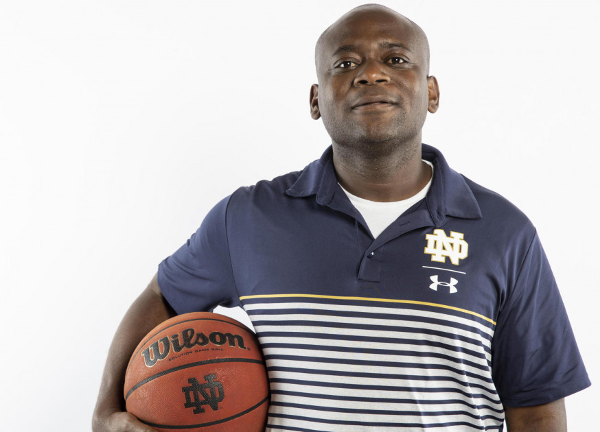 NOTRE DAME ATHLETICS  Park graduate Nixon Dorvilien was named the athletic trainer for the University of Notre Dame's men's basketball team last week.