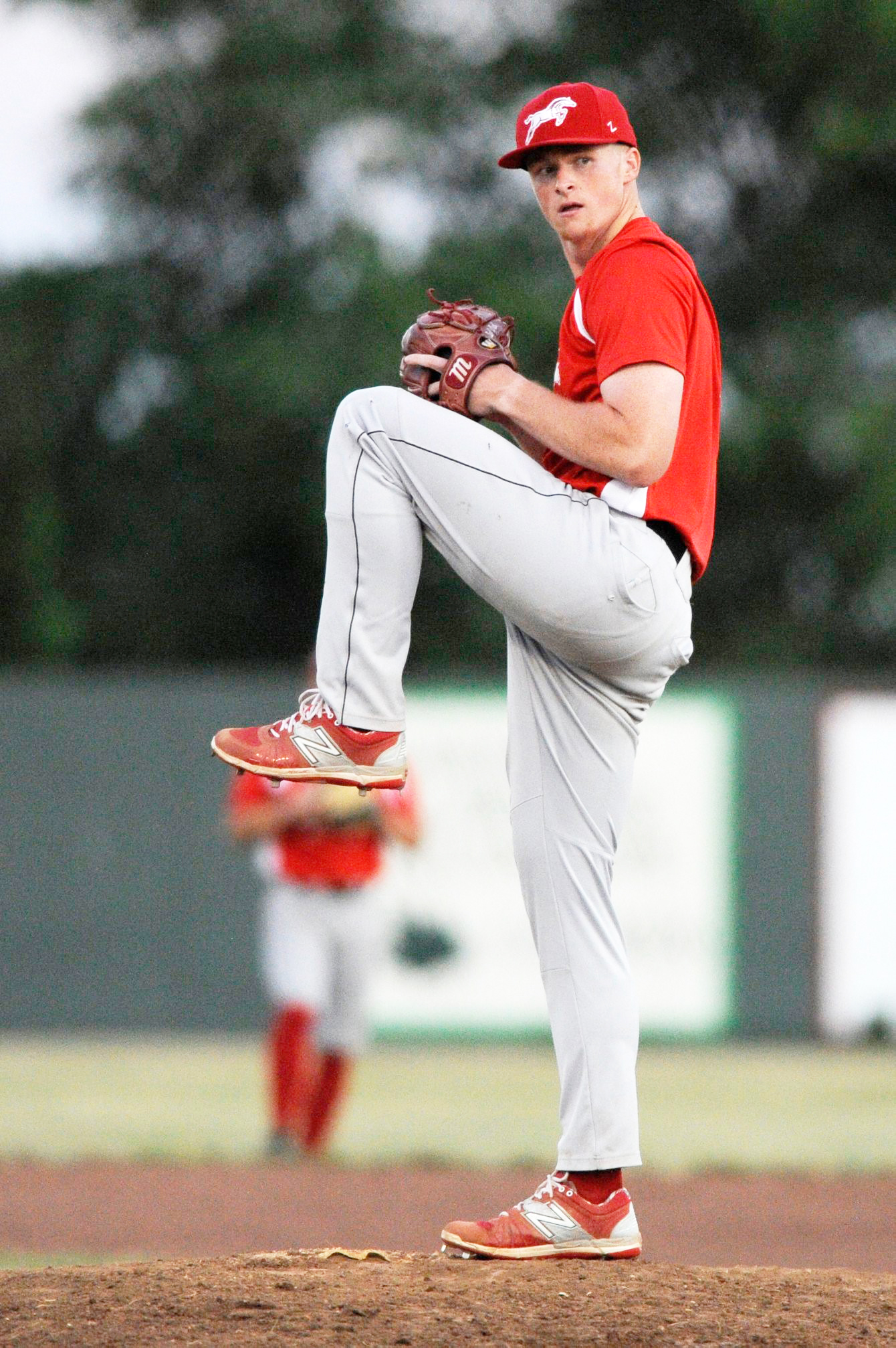 NICK INGRAM/Special to the Citizen  West Platte product Mack Stephenson pitched for the St. Joseph Mustangs for the second summer in a row.