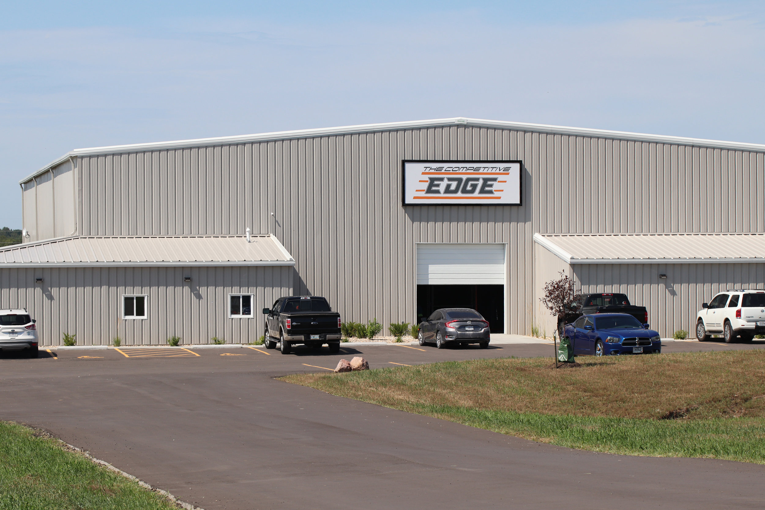 CODY THORN/Citizen photo  Competitive Edge opened up at 10850 Highway 92, east of Platte City. The indoor facility provides 15,000 square feet to host a number of games and training activities.