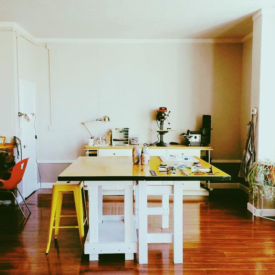 Studio of small ant workshop