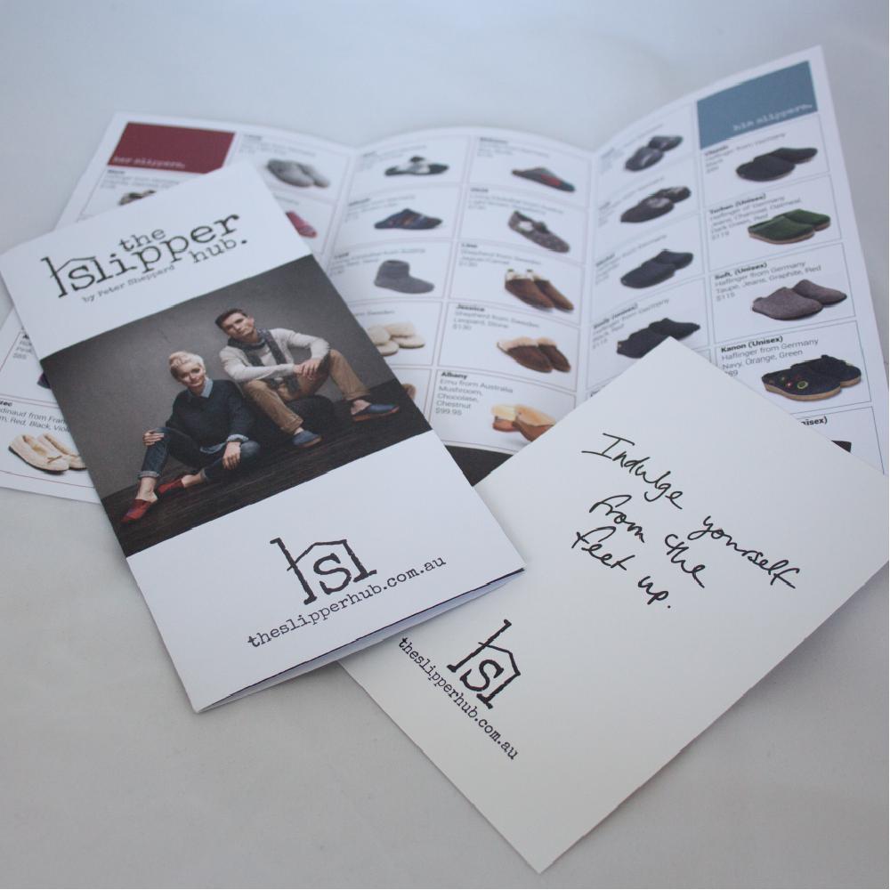 Print design for shoe retailer