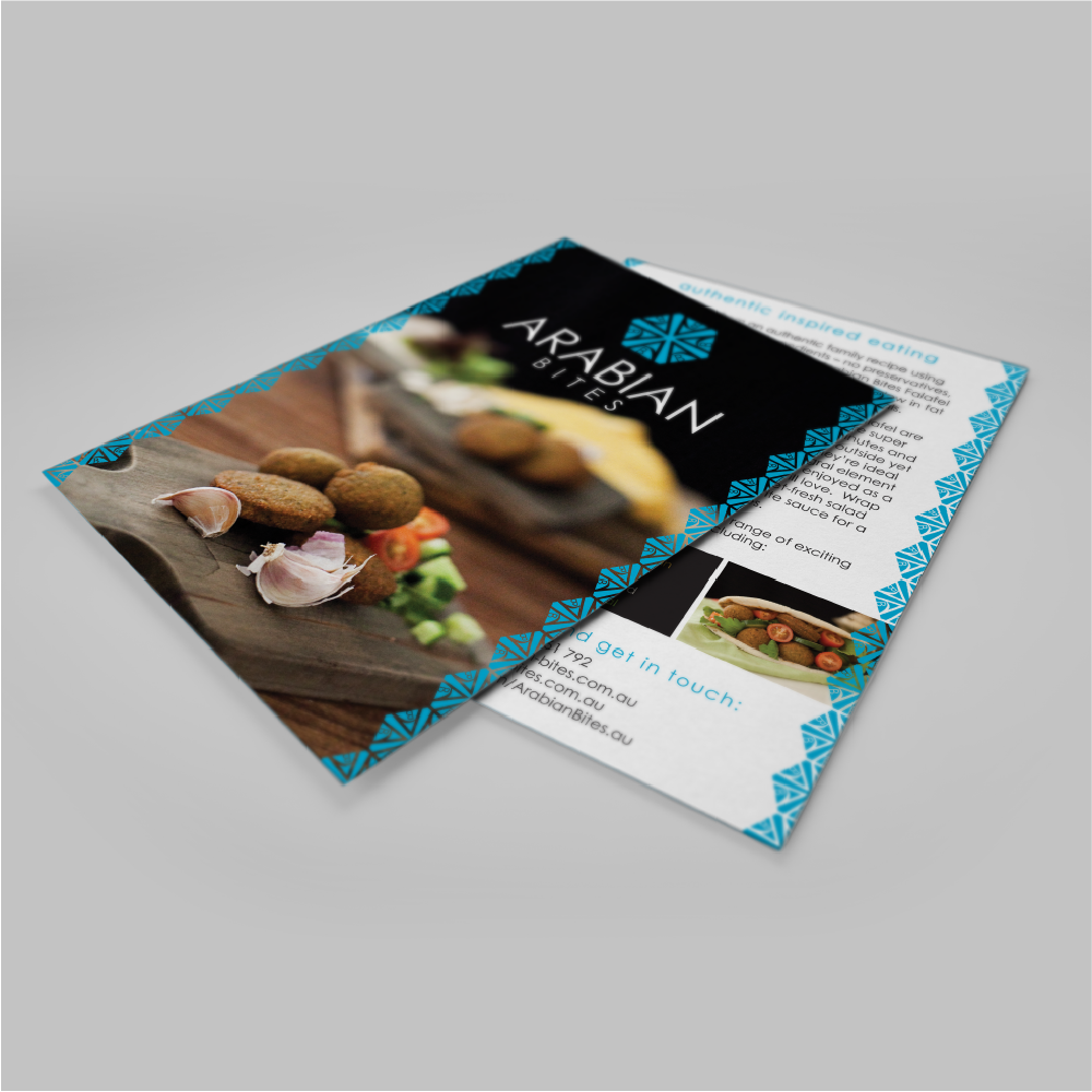 Print design for a food producer
