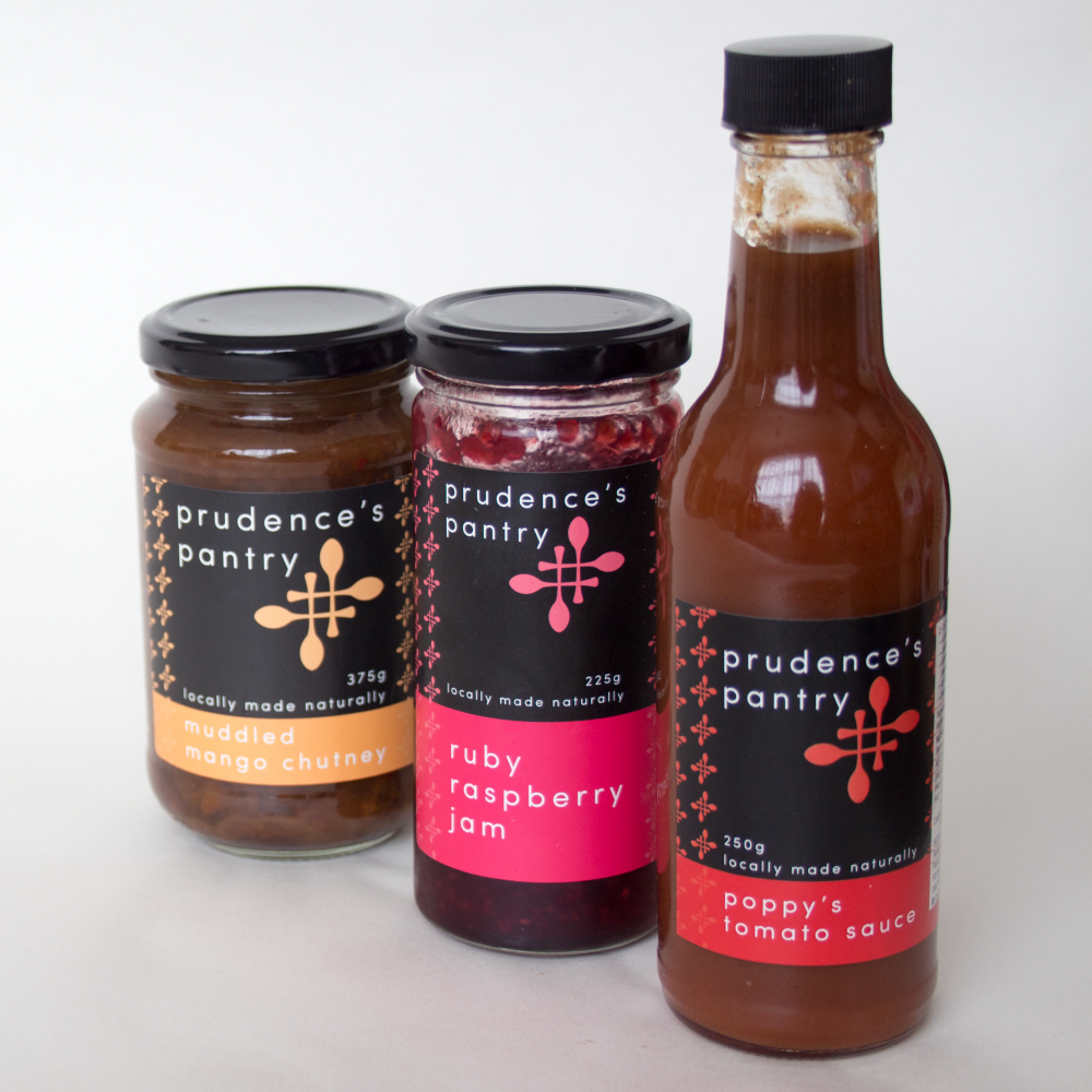 packaging design for jams, condiments and sauces