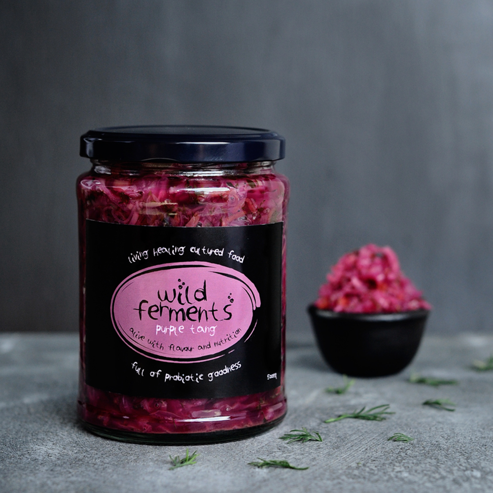 packaging design for fermented vegetables