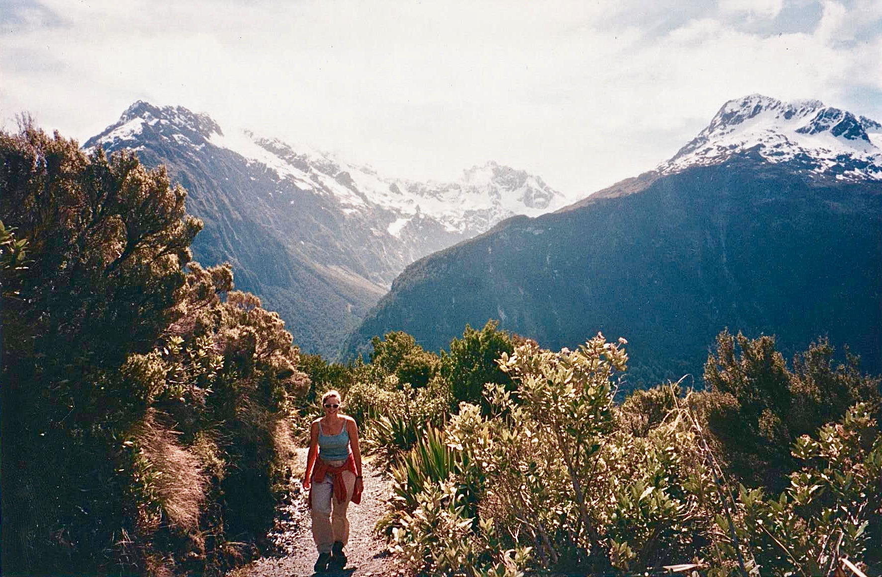 Routebum Track, New Zealand in thrift store fashion