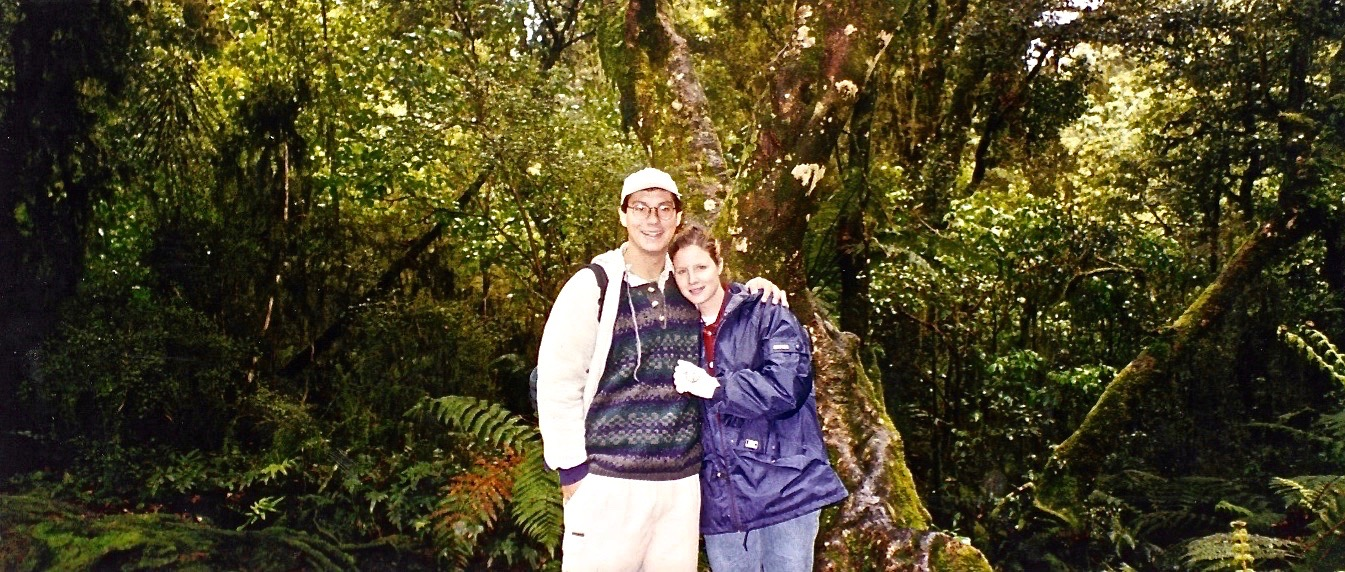 Routebum Track, Milford Sound, New Zealand in the latest thrift store fashion