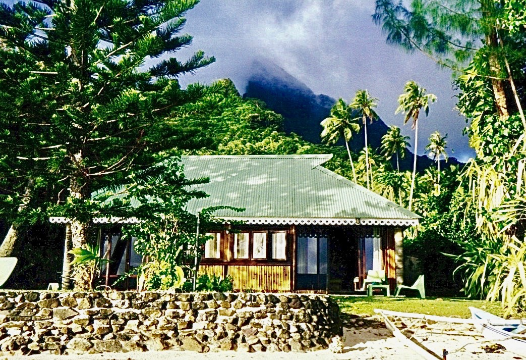 Our bungalow, Moorea, Tahiti