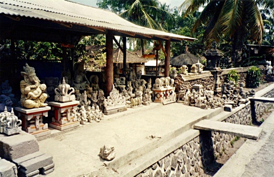 Stone Carver, Ubud, Bali