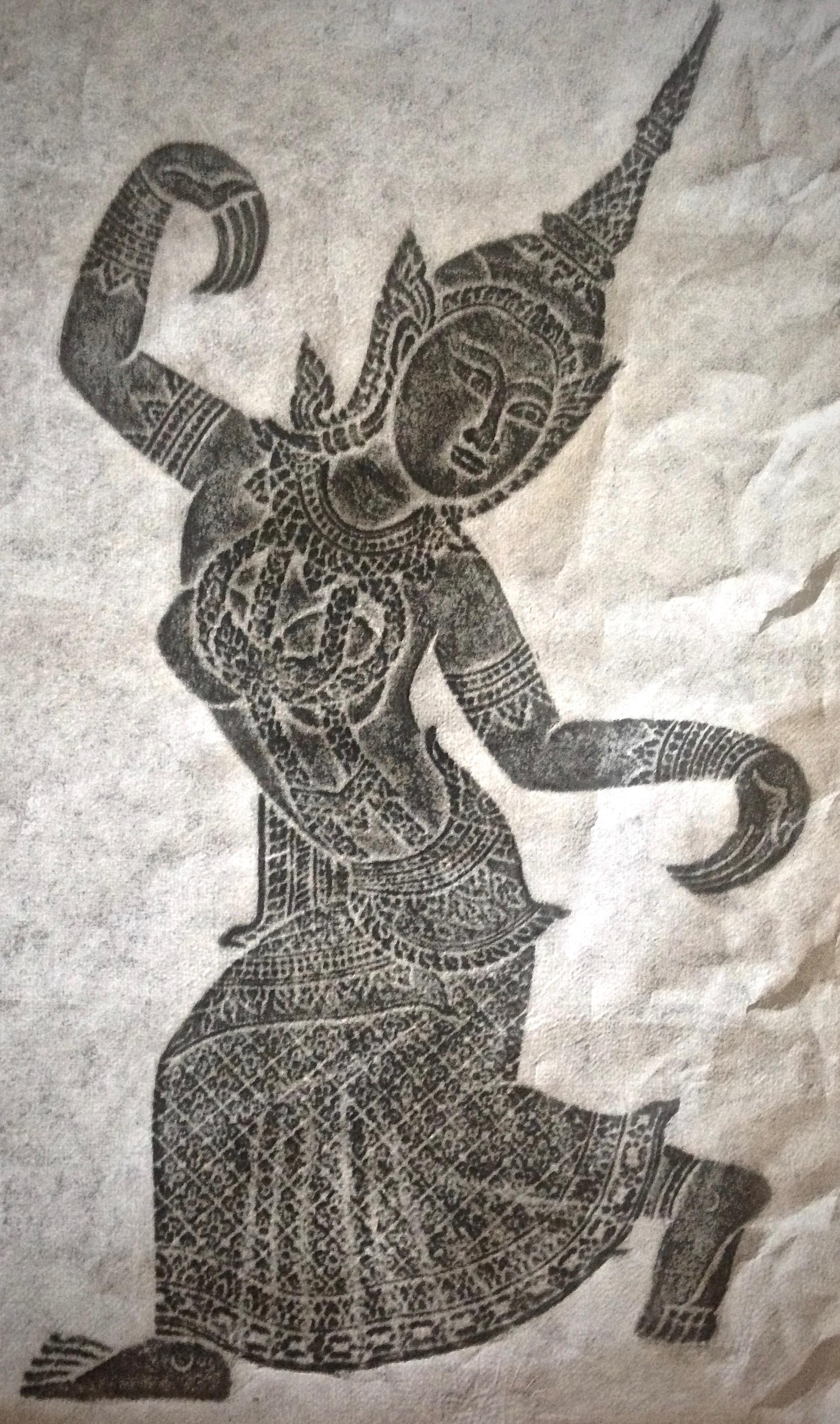 Asian fusion art, Ubud, Bali
