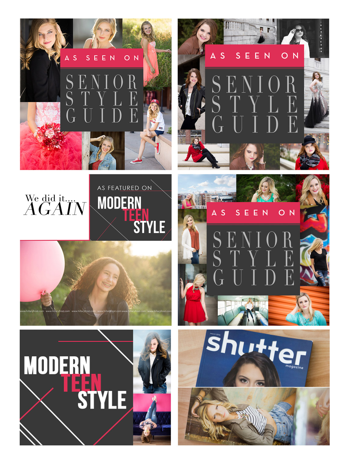 hillary frost photography senior style guide published