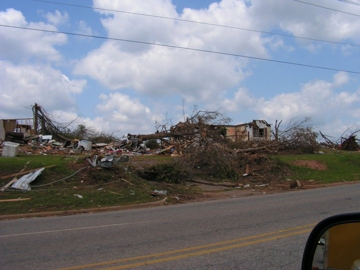 Neighborhoods were completely wiped of the map.