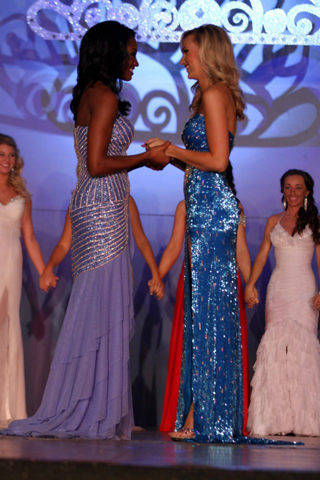 Moments before being announced National Sweetheart 2012