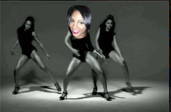 This is me  BEING Beyonce