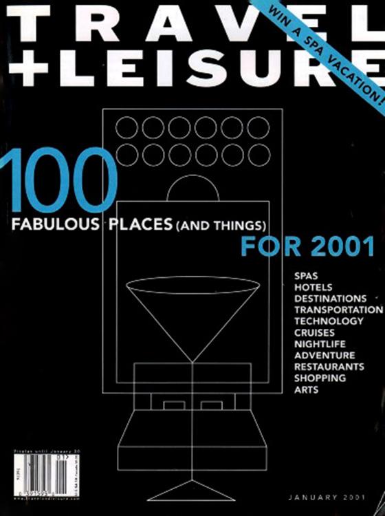 TRAVEL + LEISURE 2001
