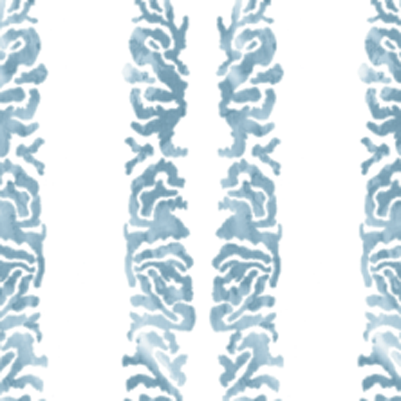 Coral Scroll-Tie Dye