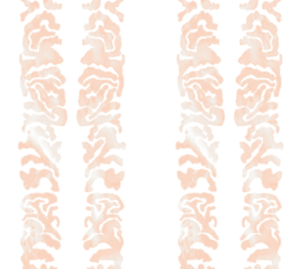 Coral Scroll-Rose Gold