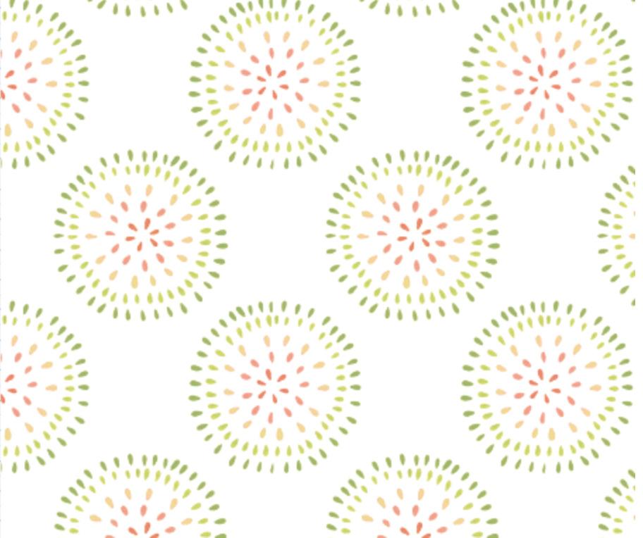 Disperse Circles Small- Starfruit