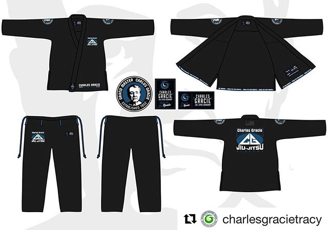 """#Repost @charlesgracietracy with @get_repost ・・・ 🚨 NEW GI ALERT🚨 We are happy to share with you guys our limited edition throw back gi """"True to the Roots"""" with the first logo the #charlesgracieacademy used back in the 90's and honoring Grand Master Carlos Gracie! They are available for pre-order at all Academy locations and online. These GIs will be available for PREORDER ONLY until Friday, August 30th! Don't miss your chance to purchase this limited edition throw back! #graciejiujitsu #charlesgraciejiujitsu"""