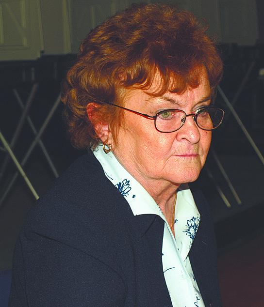 Town Clerk Janet Bennett [Roger Jackson file photo]