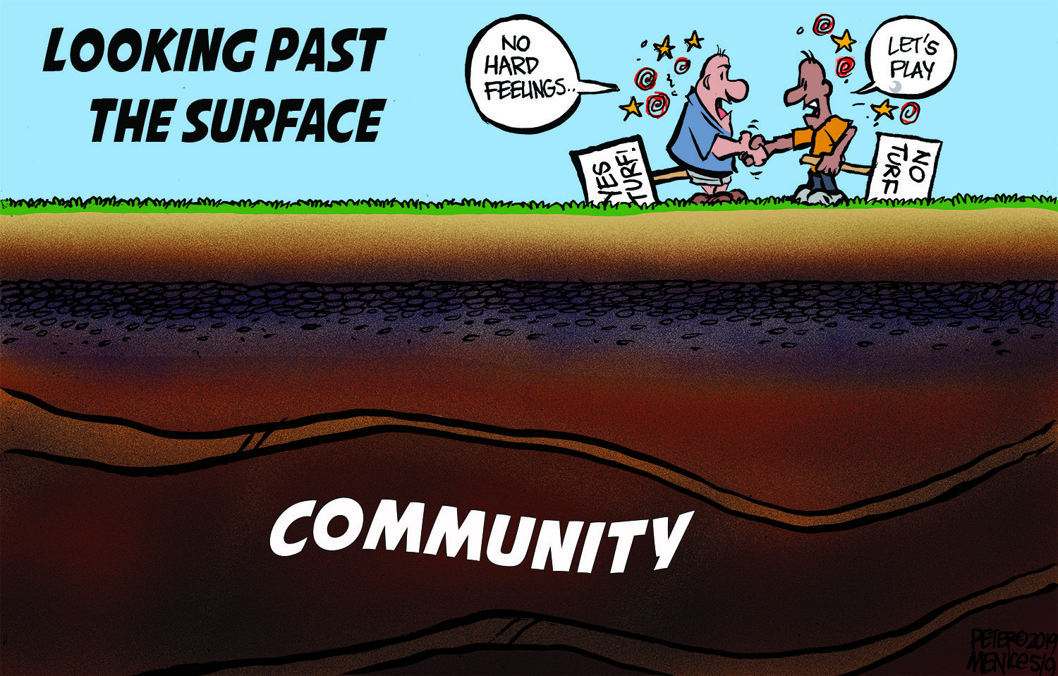 Beneath the surface, Peter cartoon.jpg