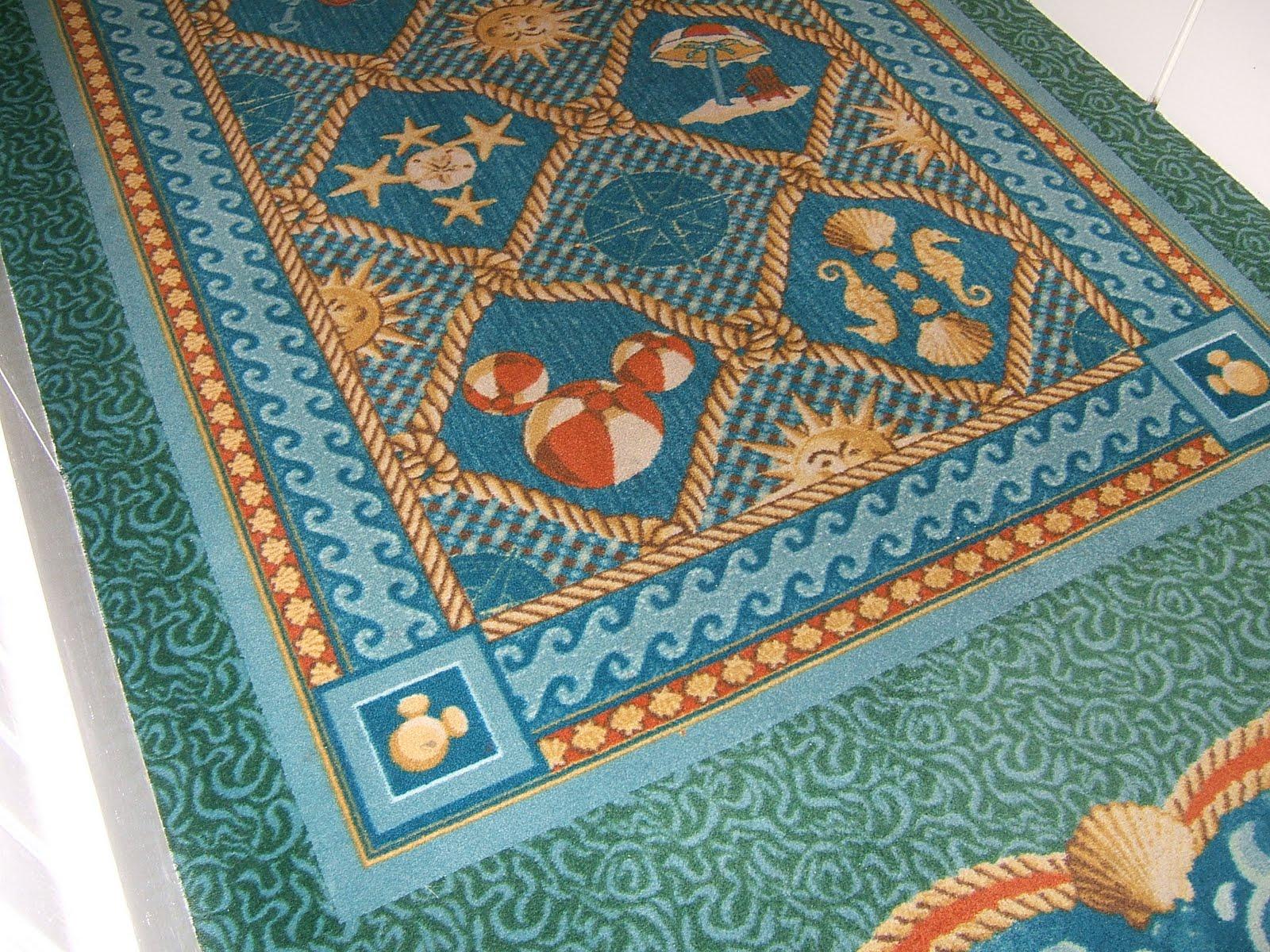 Hidden Mickey Beach Club Carpet