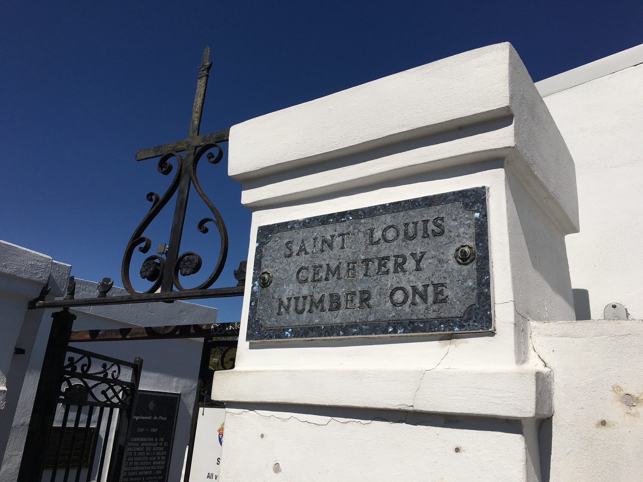 New Orleans oldest cemetery opened in 1789.