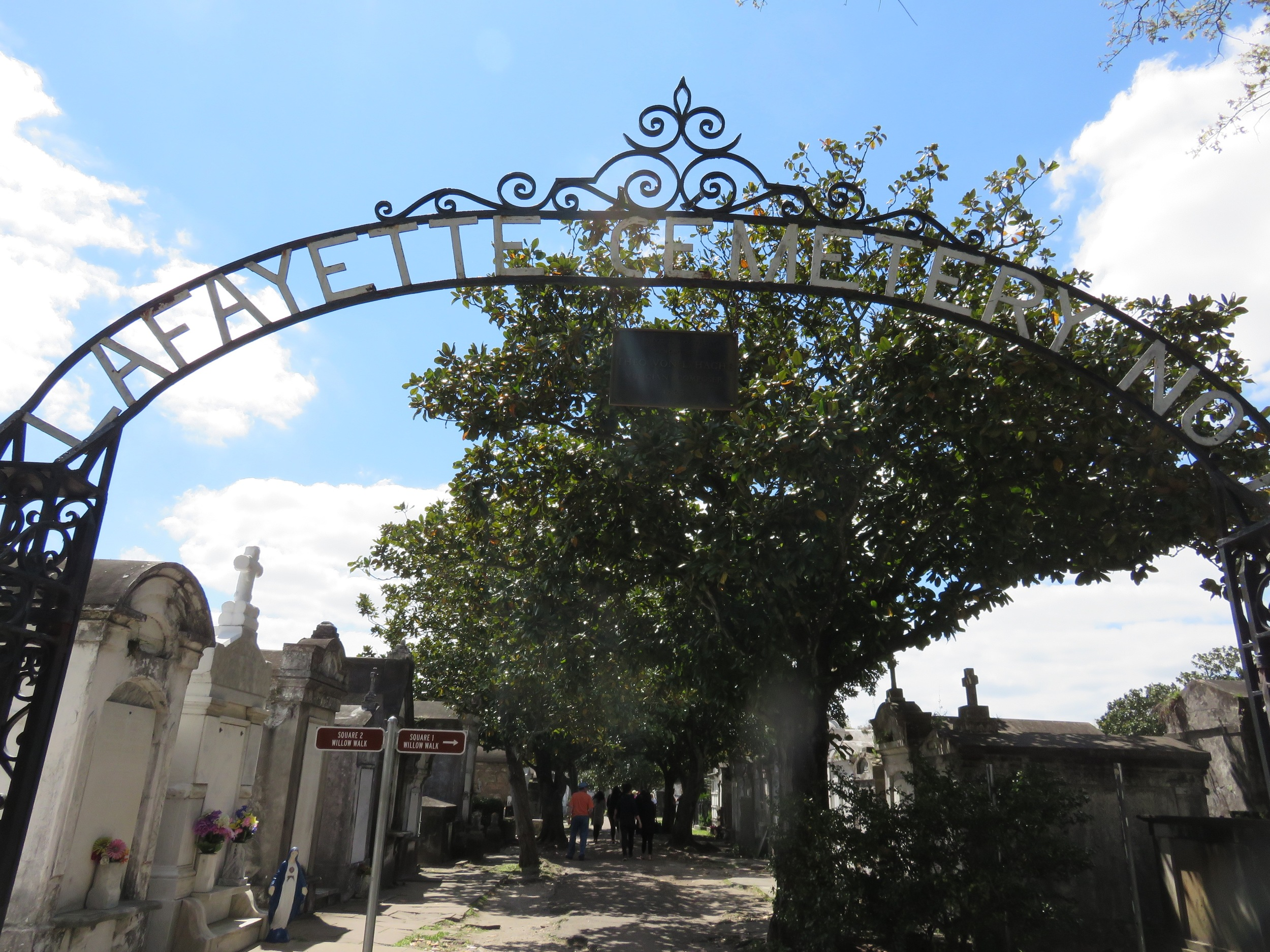 Lafayette Cemetery, Garden District, New Orleans.