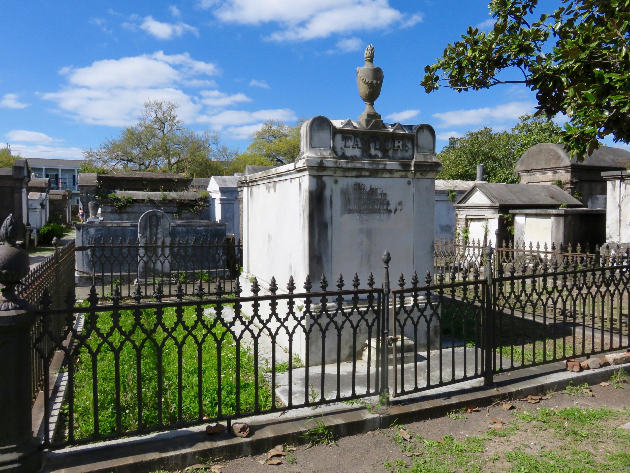 Lafayette Cemetery, Garden District New Orleans.