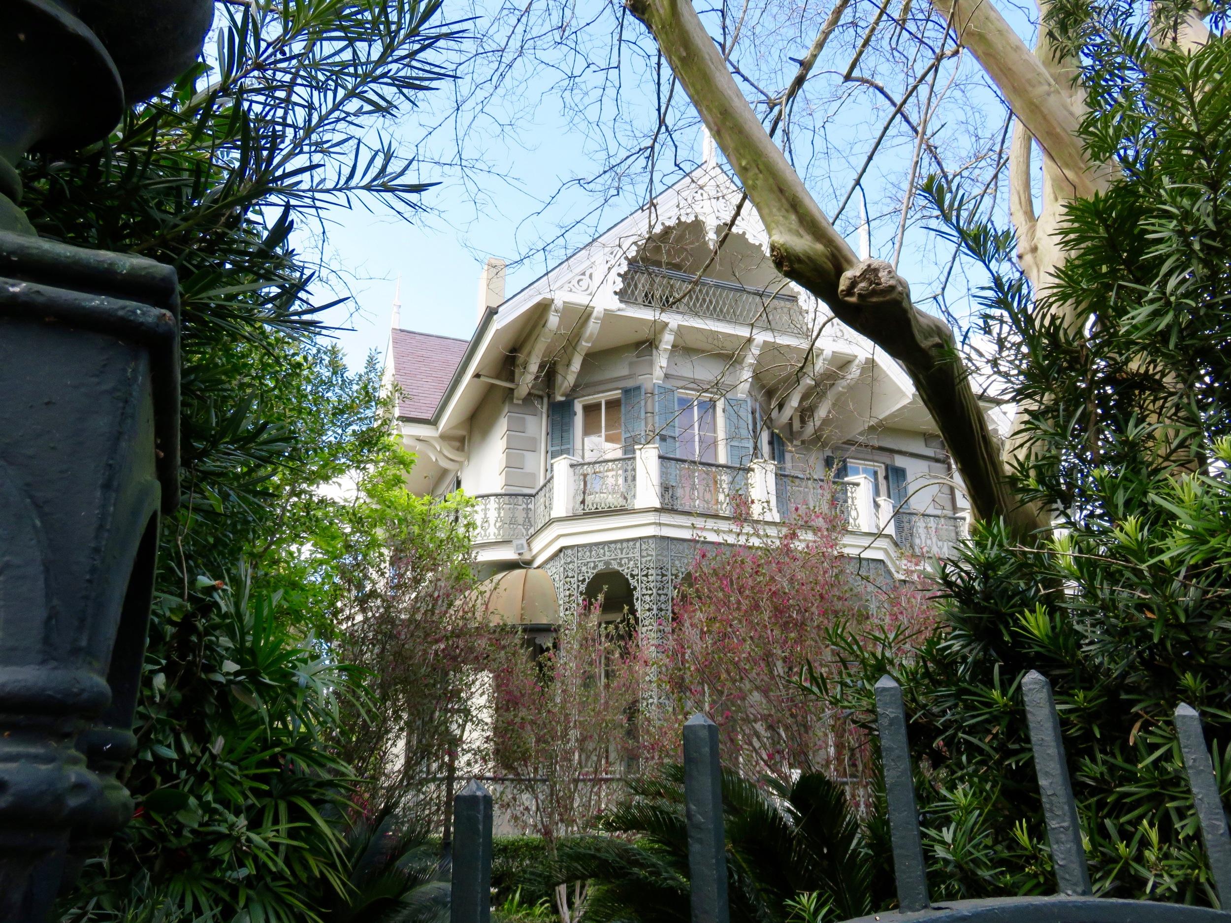 Sandra Bullock's home, Garden District New Orleans.