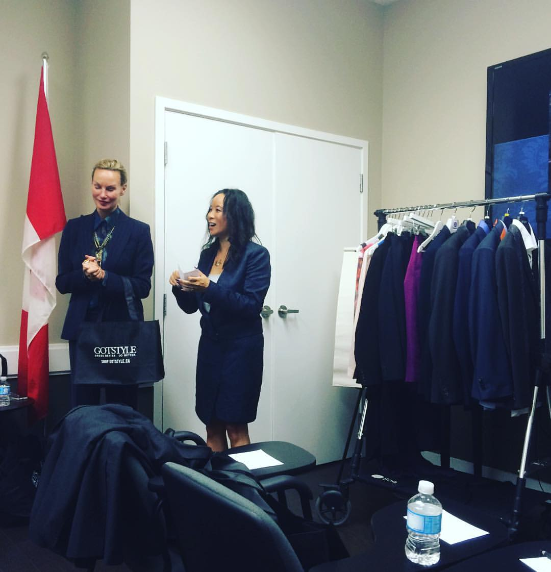We want to send a quick shout out to @msgotstyle who was in our training centre this week talking about dressing better and doing better. Great information on men's business attire including canvas vs. fusing / playing with prints / avoiding boxy fits / blazer lengths / collar tricks and more. She is an encyclopedia of information on mastering style. We learned something. Thanks Melissa!!     Check out their two amazing stores at 60 Bathurst and in the #distillerydistrict . You won't be disappointed!     If you're an office manager, talk to Moe and get them into your company 👍🏼      #Toronto #torontofashion #torontolife  #lovetoronto #downtownto #downtowntoliving #sixside #the6ix  (at The Ravi Singh Team at ReMax Hallmark)