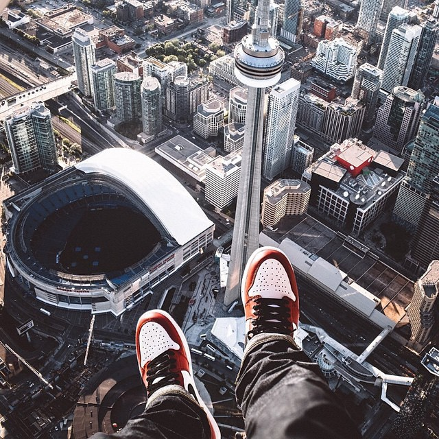 #peopleoftoronto #torontoartists #torontophotography check out the amazing work of #toronto #photographer and our friend from time… @mr_jobeezy. His work is fire. We especially like his perspective shots of the city's skyline. In this photo you can see some of the condo buildings we work with… #cityplace #ritzcarlton #charlie #m5v #thehudson #downtownTOliving