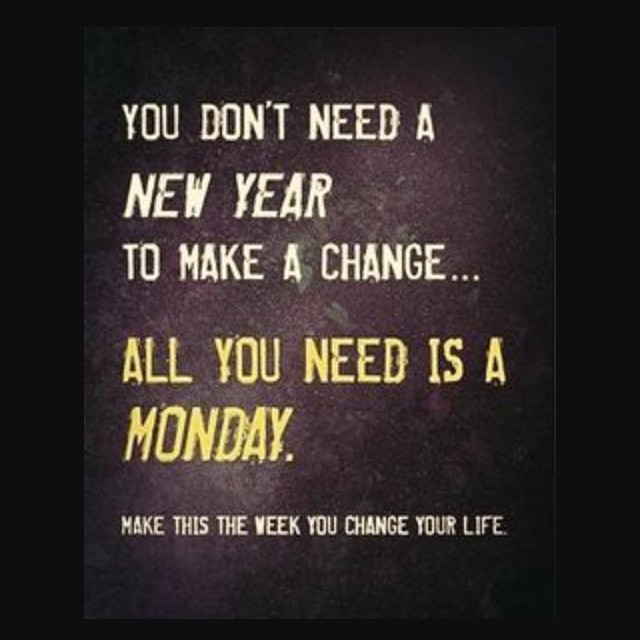 #happy #monday we are making some small but bold changes and we encourage you to do the same! #downtowntoliving #bestoftoronto #toronto #motivationmondays