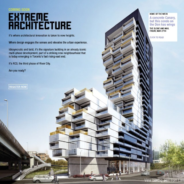 Are you familiar with #rivercity ? It's our development of the week. Get familiar with its extreme architecture. Phase 3 exclusive assignment. Ask us about this awesome 1 br only $365k!! More on our blog! #downtownTOliving #toronto #torontorealestate #realestate #condos #torontocondos #remax #the6ix #6ixside #6ix #bestoftoronto