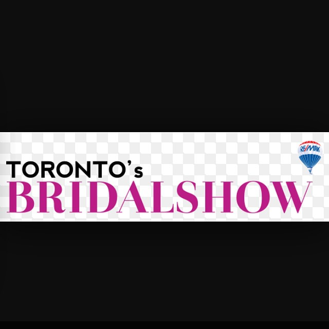 Happening in #toronto Sponsored by #remax the toronto Bridal show. At The #directenergycentre #april 10-12th. PM us if you want to enter for a chance to win #vip tickets from our team. #ravisinghremax