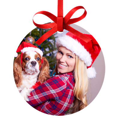 Customized Gifts - Ever want your picture on an ornament? What about on a deck of cards? Staples is giving 30% off personalized photo gifts.