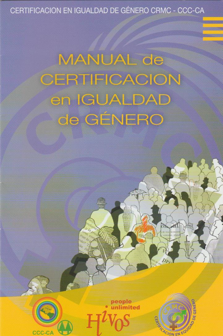 Manual de Certificación en Igualdad De Género