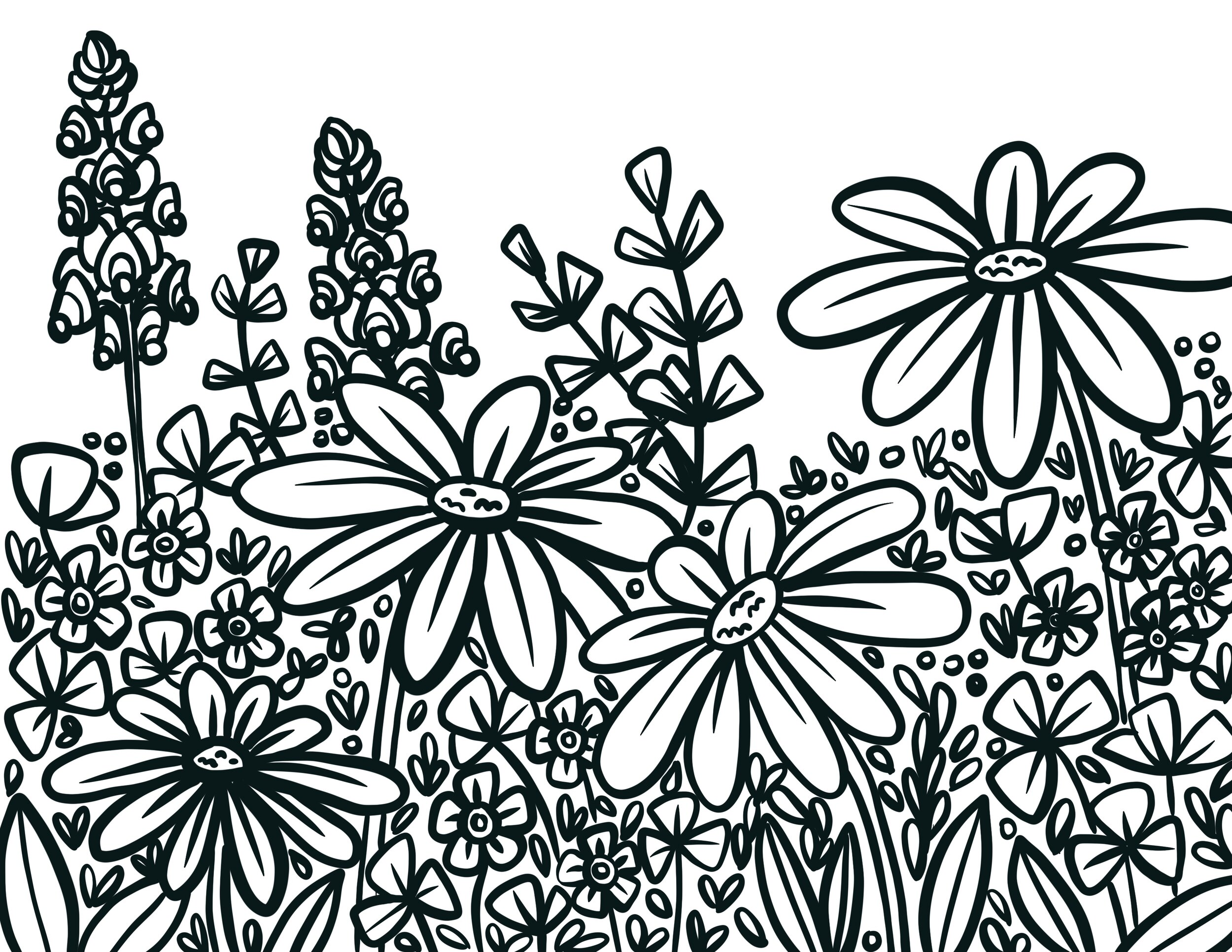 FREE Adult Coloring Pages - Happiness is Homemade | 773x1000