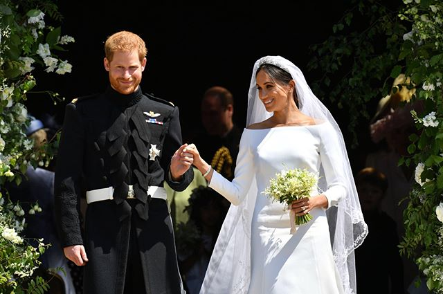 BLACK PRINCESS!!❤️ Congrats to Prince Harry and Princess Meghan (the Duke and Duchess of Sussex) on their marriage! 👑👰🏽🤵🏼 . . . . . . #royalwedding #PrincessMeghan #PrinceHarry #duchessofsussex