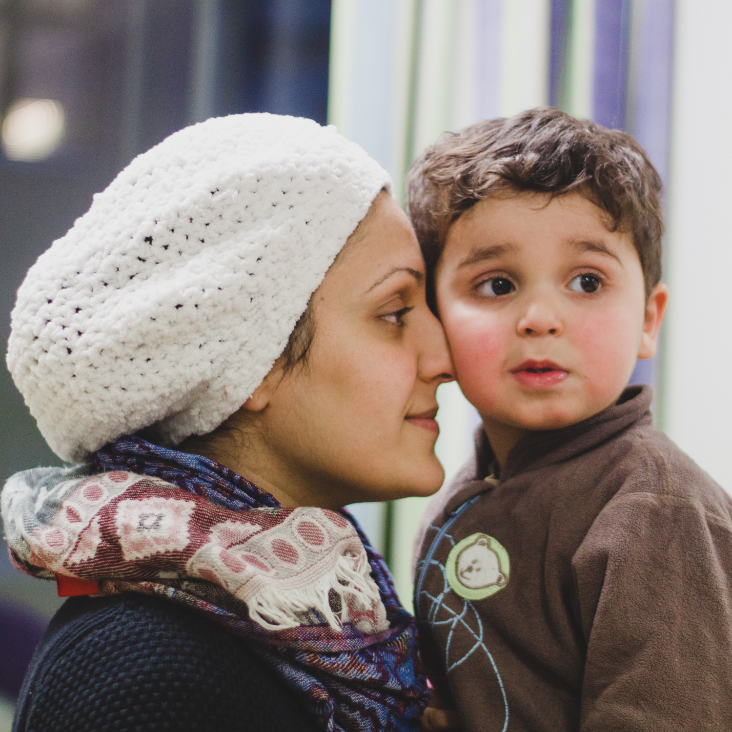 AN IRAQI MOTHER IN FINLAND
