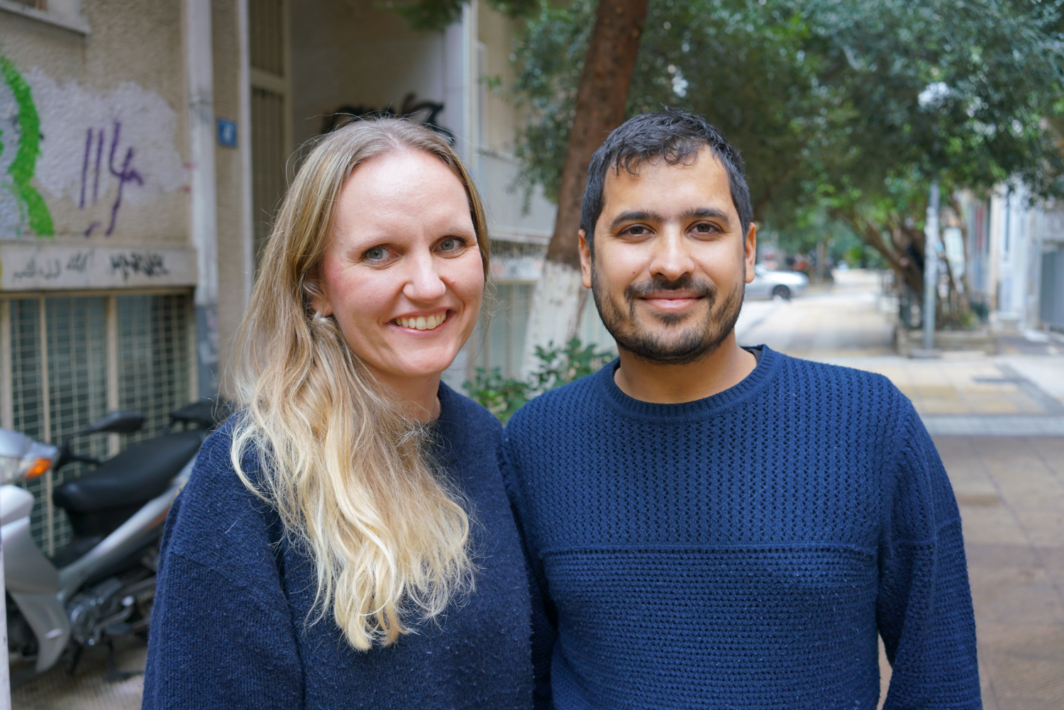 Patricia Kirk and her husband Dan Biswas founded the Faros home for unaccompanied minors and continue to develop the staff and services they offer for vulnerable teenagers in Athens. Photo: Talitha Brauer