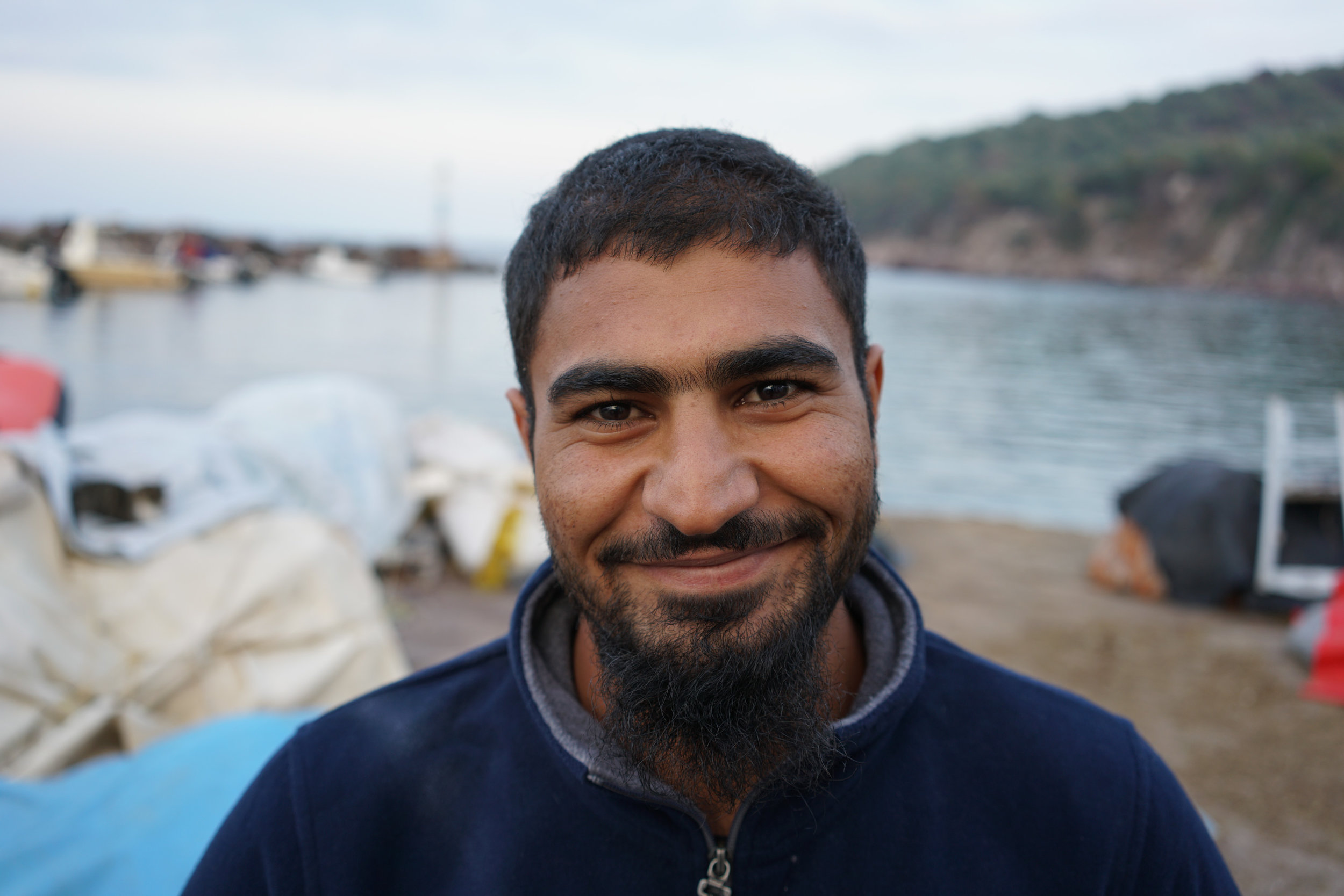 Adil, Skala Sikamineas, Greece. Photo: Talitha Brauer
