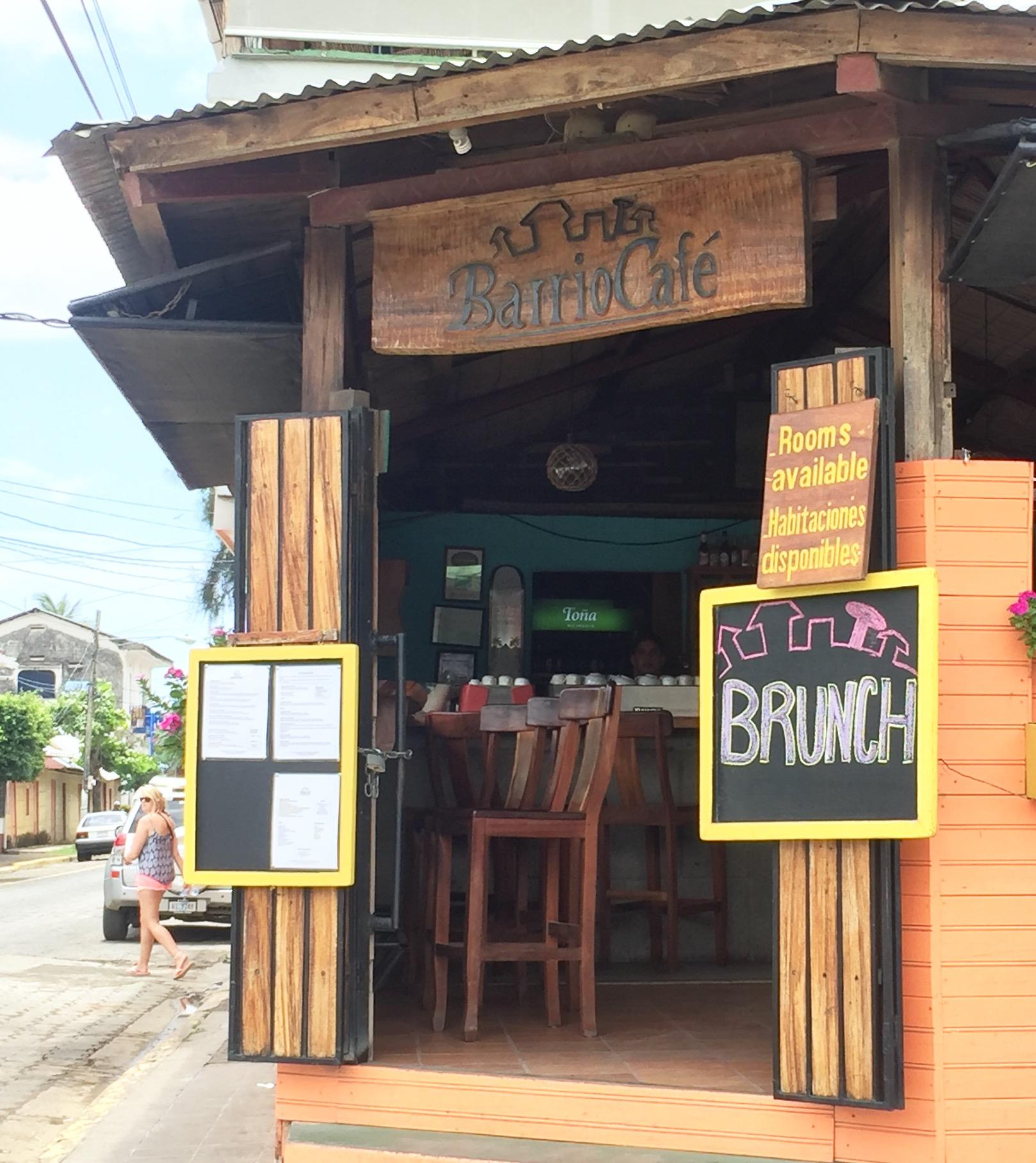 barrio café san juan del sur.