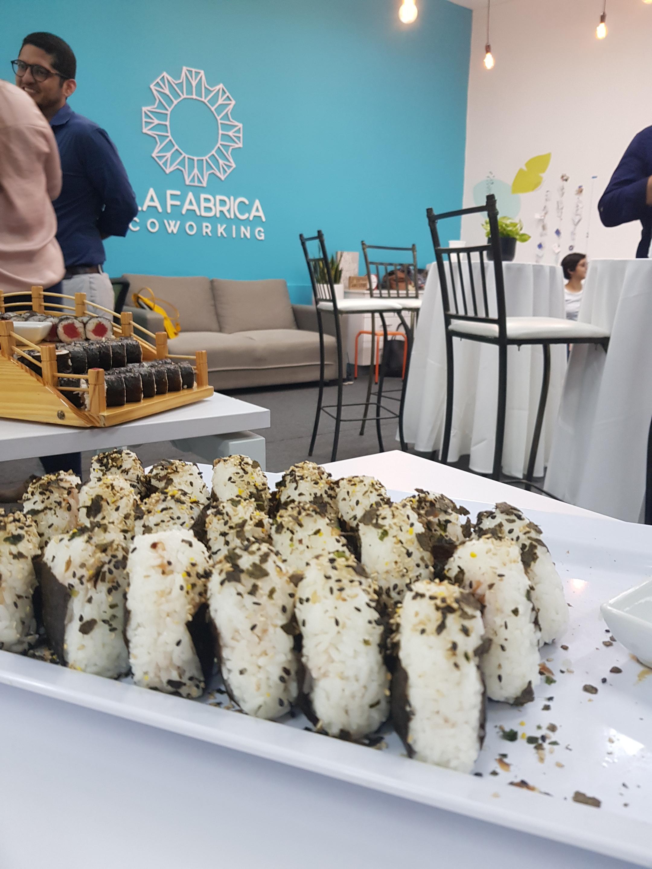 Onigiris (una forma de sushi) hecho por Japan Street, la nueva iniciativa de mi hermano Alvaro. @japanstreet2019