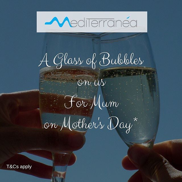 Have you booked for Mother's Day? Mum enjoys a gift from us with a free glass of house wine or sparkling upon arrival. Let's spoil Mum - get booking 🍽🥂 #mediterraneasydney