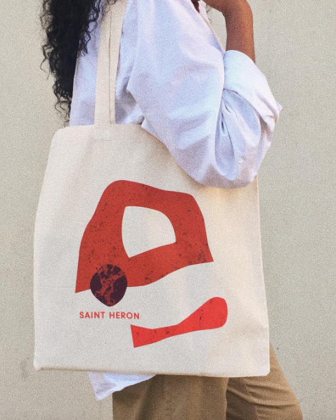 Saint Heron Shop Tote Bags