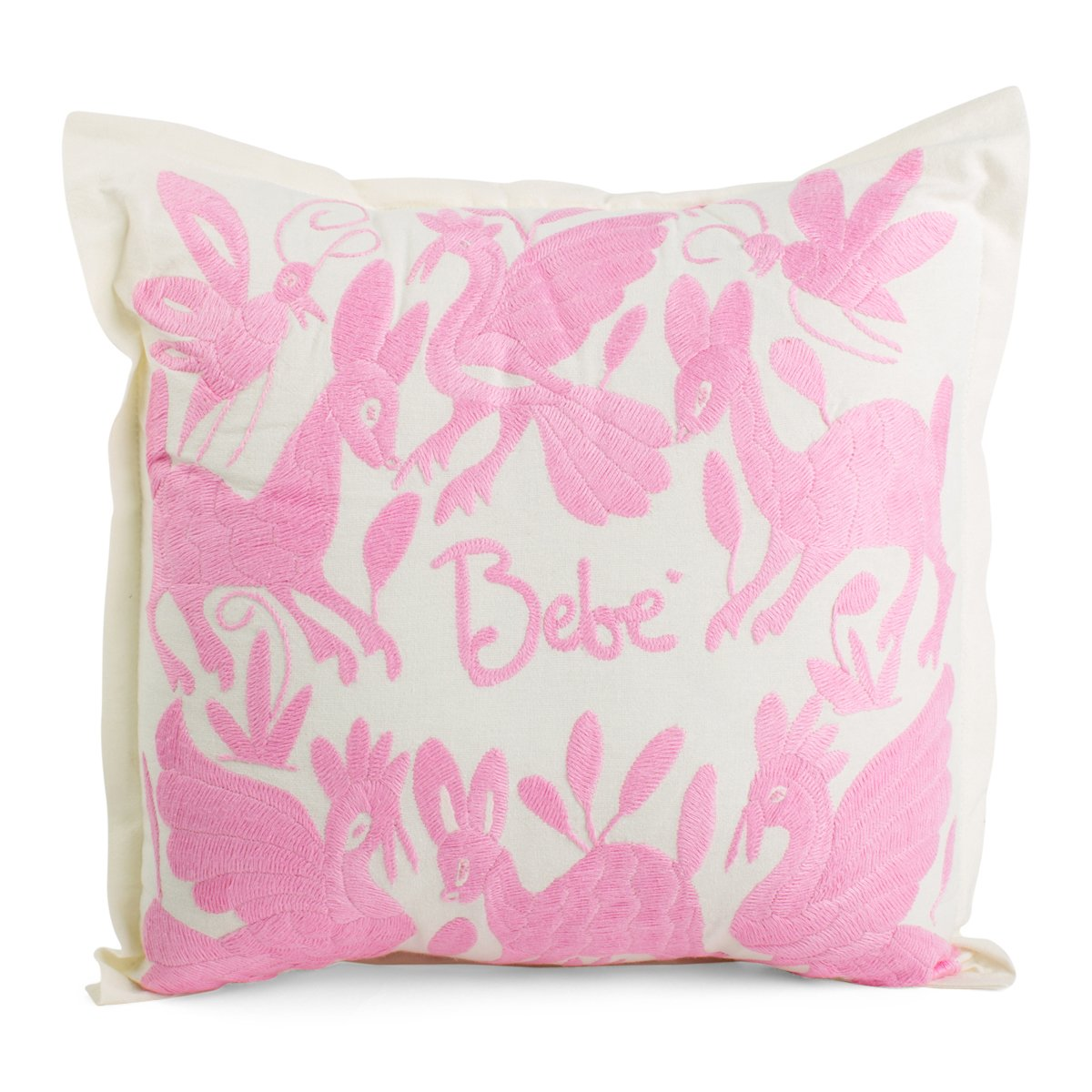 Bebe Embroidered Pillow